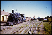 D&amp;RGW #475 K-28 in Antonito with dual track in center.<br /> D&amp;RGW  Antonito, CO