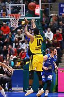Adika Peter-McNeilly(MHP Riesen Ludwigsburg) - 04.02.2018: Fraport Skyliners vs. MHP Riesen Ludwigsburg, Fraport Arena Frankfurt