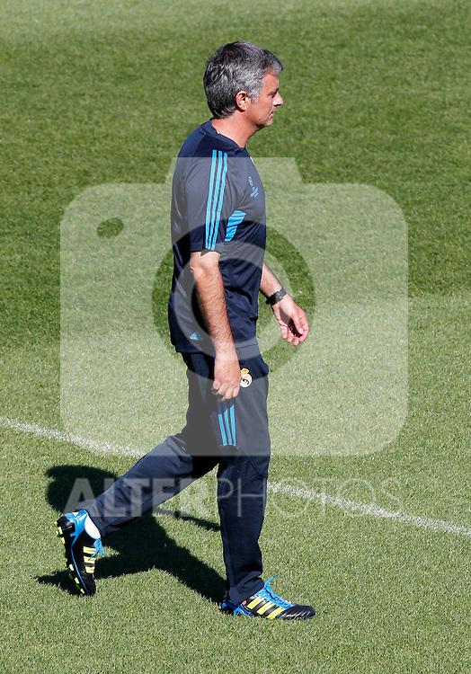 Madrid (13/09/2011).- Ciudad Deportiva de Valdebebas.Entrenamiento del Real Madrid c.f. .Jose Mourinho...Photo: Alex Cid-Fuentes / ALFAQUI....