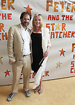 Sherie Rene Scott and husband Kurt Deutsch.attendingthe Broadway Opening Night Performance of 'Peter And The Starcatcher' at the Brooks Atkinson Theatre on 4/15/2012 in New York City.