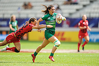 Amee Leigh Murphy Crowe of Ireland during the women's HSBC Paris Sevens match between Ireland and Wales, Rugby Sevens World Series at Stade Jean Bouin on June 8, 2018 in Paris, France. (Photo by Sandra Ruhaut/Icon Sport)