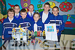 YOUNG SCIENCE: Pupils from CBS Clounalour CBS Tralee who took part in the Discover your Science Day at their school on Friday. L-r: Declan Quinn, Jack Hayes, Se?an Hanly and Klaudio Dema. Back l-r: David Pula, Shannon O Doherty and Cian Sheridan. ..