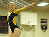 Nassau County gymnastics individual championships and state qualifiers at Hicksville High School Tuesday, February 9, 2016. Lexi Fraher, Bethpage - Balance Beam