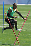 Getafe's Robert Kenedy during training session. May 19,2020.(ALTERPHOTOS/Acero)