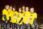 l-r  Veronica Deenihan, Philomena O'Halloran, Bernie Hayes, Tara White, Sarah Hayes, Susie White and Susie White at the Darkness Into Light Tralee at CBS the Green on Saturday