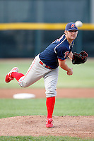 August 1, 2009:  Starting Pitcher Kyle Drabek of the Reading Phillies during a game at Jerry Uht Park in Erie, PA.  Reading is the Eastern League Double-A affiliate of the Philadelphia Phillies.  Photo By Mike Janes/Four Seam Images