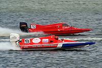 Danny McManus(#8) and Chip Wavro (#10) (Super Sport Tunnel)