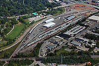 aerial photograph Lexington, Kentucky rail road terminal