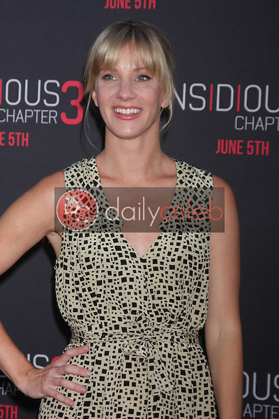 Heather Morris at the &quot;Insidious Chapter 3&quot; Premiere, TCL Chinese Theater, Hollywood, CA 06-04-15<br /> David Edwards/DailyCeleb.com 818-249-4998