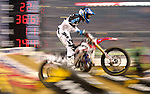 Supercross is held at Cowboys Stadium in Arlington, TX on Saturday, April 2, 2011.  (Star-Telegram/Khampha Bouaphanh)