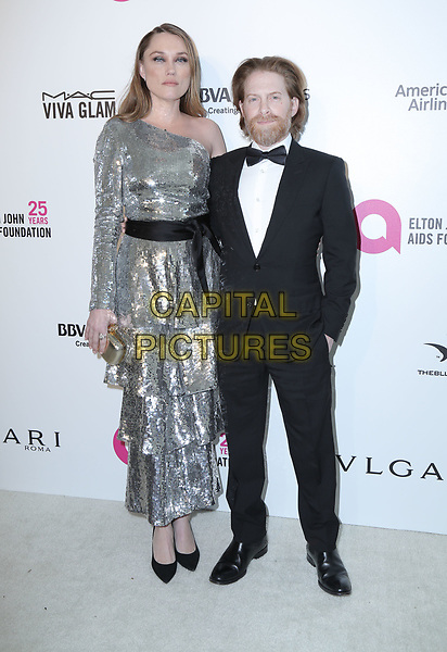 04 March 2018 - West Hollywood, California - Seth Green, Clare Grant. 26th Annual Elton John Academy Awards Viewing Party held at West Hollywood Park. <br /> CAP/ADM/PMA<br /> &copy;PMA/ADM/Capital Pictures