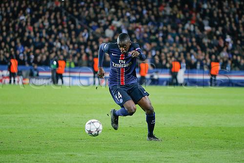 06.04.2016. Paris, France. UEFA CHampions League, quarter-final. Paris St Germain versus Manchester City.  Blaise Mathuidi (psg)