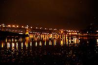 Burrard bridge,Vancouver, British Columbia,Canada.
