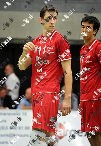 2011-10-08 / Volleybal / seizoen 2011-2012 / Puurs / Gilles Biset..Foto: Mpics