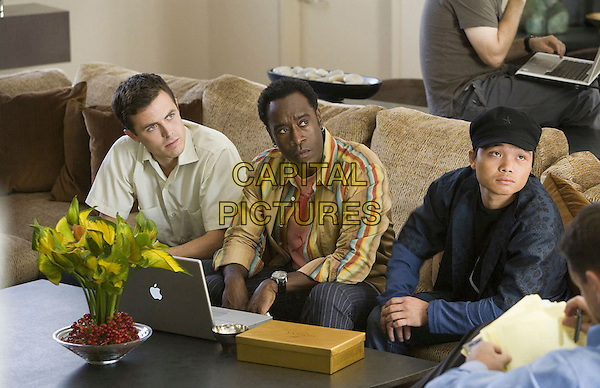 CASEY AFFLECK, DON CHEADLE & SHAOBO QIN.in Ocean's Thirteen (13)  .**Editorial Use Only**.CAP/FB.Supplied by Capital Pictures