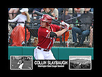 Photo collage of Collin Slaybaugh during his college baseball career at Washington State University.