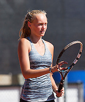 Netherlands, Rotterdam August 05, 2015, Tennis,  National Junior Championships, NJK, TV Victoria, Femke Mars<br /> Photo: Tennisimages/Henk Koster