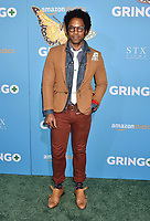 LOS ANGELES, CA - MARCH 06: Actor Jonathan Fernandez attends the world premiere of 'Gringo' from Amazon Studios and STX Films at Regal LA Live Stadium 14 on March 6, 2018 in Los Angeles, California.<br /> CAP/ROT/TM<br /> &copy;TM/ROT/Capital Pictures