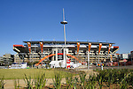 15 JUN 2010: Exterior shot of the stadium. The Brazil National Team played the North Korea National Team at Ellis Park Stadium in Johannesburg, South Africa in a 2010 FIFA World Cup Group G match.