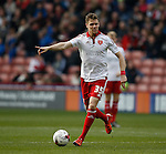 Dean Hammond of Sheffield Utd in action during the Sky Bet League One match at The Bramall Lane Stadium.  Photo credit should read: Simon Bellis/Sportimage