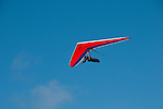 Hang gliding, hang glider, Fort Funston, San Francisco, California, USA.  Photo copyright Lee Foster.  Photo # california108411