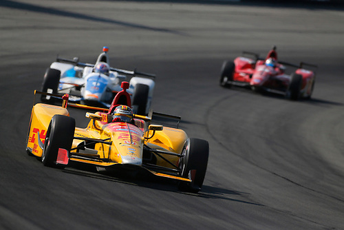 Verizon IndyCar Series<br /> ABC Supply 500<br /> Pocono Raceway, Long Pond, PA USA<br /> Sunday 20 August 2017<br /> Ryan Hunter-Reay, Andretti Autosport Honda<br /> World Copyright: Phillip Abbott<br /> LAT Images<br /> ref: Digital Image abbott_pocono_0817_6658
