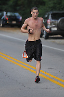 The 30th Annual Pioneer Run, a 5K road race in Louisville, Kentucky on August 31, 2013. Photo by Tom Moran
