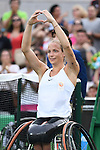 Jiske Griffioen (NED), <br /> SEPTEMBER 15, 2016 - Wheelchair Tennis : <br /> Women's Singles Final <br /> at Olympic Tennis Centre<br /> during the Rio 2016 Paralympic Games in Rio de Janeiro, Brazil.<br /> (Photo by AFLO SPORT)