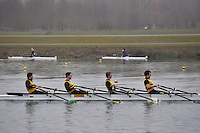 004 Christchurch RC IM3.4x‐..Marlow Regatta Committee Thames Valley Trial Head. 1900m at Dorney Lake/Eton College Rowing Centre, Dorney, Buckinghamshire. Sunday 29 January 2012. Run over three divisions.