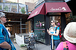 Sarah's Pastries on the Tastebud Tours food tour of Chicago, IL