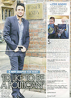 OK! Magazine<br /> Peter Andre by JIL<br /> 41253<br /> tearsheet