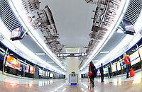 Chengdu Metro line 1 in Chengdu, China.<br /> 12 Mar 2011