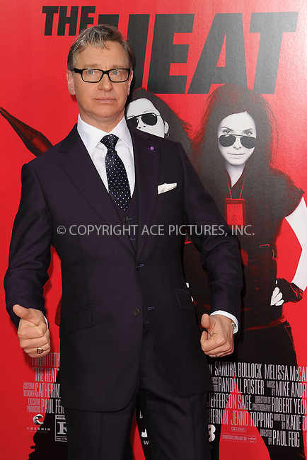 WWW.ACEPIXS.COM<br /> June 23, 2013...New York City <br /> <br /> Paul Feig attending 'The Heat' New York Premiere at the Ziegfeld Theatre on June 23, 2013 in New York City.<br /> <br /> Please byline: Kristin Callahan... ACE<br /> Ace Pictures, Inc: ..tel: (212) 243 8787 or (646) 769 0430..e-mail: info@acepixs.com..web: http://www.acepixs.com