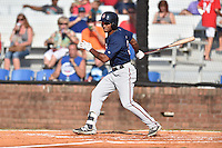 Johnson City Cardinals left fielder Roberto Gonzalez (22) swings at a pitch during a game against the Elizabethton Twins at Howard Johnson Field at Cardinal Park on June 26, 2016 in Johnson City, Tennessee. The Twins defeated the Cardinals 13-12. (Tony Farlow/Four Seam Images)