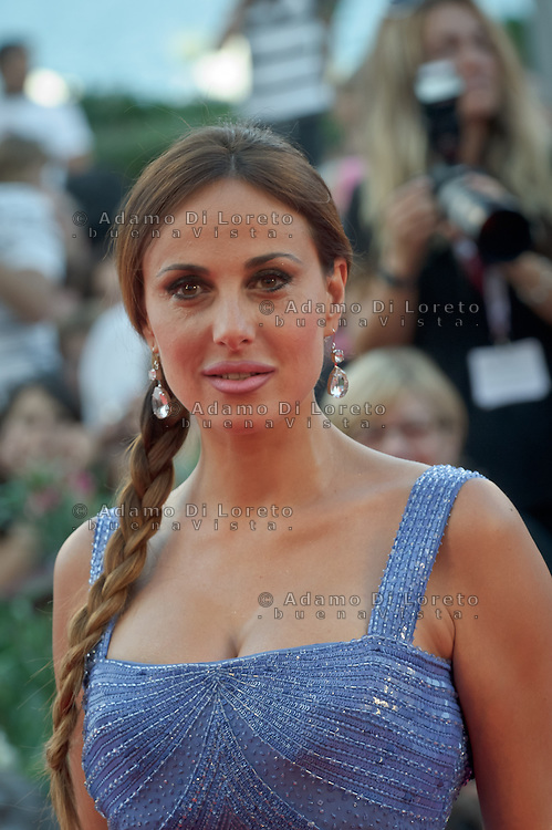 """Isabelle Adriani attends """"The Gravity"""" photocall during the 70th Venice Film Festival in Italy, on  August 28, 2013. (Photo by Adamo Di Loreto/BuenaVista*photo)"""