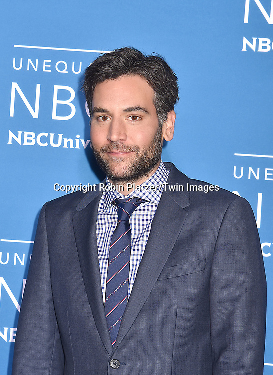 Josh Radnor of &quot;Rise&quot; attends the NBCUNIVERSAL 2017 UPFRONT on May 15, 2017 at Radio City Music Hall in New York, New York, USA.<br /> <br /> photo by Robin Platzer/Twin Images<br />  <br /> phone number 212-935-0770