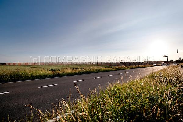 The fields around Brussels Airport in Steenokkerzeel (Belgium, 25/06/2013)