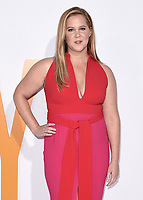 """WESTWOOD, CA - APRIL 17:  Amy Schumer at the world premiere of """"I Feel Pretty"""" at Westwood Village Theater on April 17, 2018 in Westwood, California. (Photo by Scott KirklandPictureGroup)"""