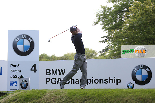 Martin Kaymer (GER) added a 69 during Round Three of the 2015 BMW PGA Championship over the West Course at Wentworth, Virginia Water, London. 23/05/2015. Picture David Lloyd | www.golffile.ie.