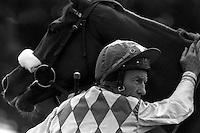 Pix:Michael Steele/SWpix... Horse Racing. Lester Piggott, Doncaster...COPYRIGHT PICTURE>>SIMON WILKINSON..Lester Piggott, Doncaster.