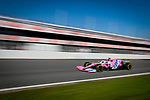 BWT Racing Point F1 Team, Lance Stroll, takes part in the tests for the new Formula One Grand Prix season at the Circuit de Catalunya in Montmelo, Barcelona. February 19, 2020 (ALTERPHOTOS/Javier Martínez de la Puente)