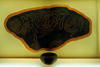 Spanien, Kanarische Inseln, La Palma, Cueva de Belmaco, Keramik der Guanchen (Ureinwohner)