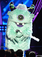 LOS ANGELES- MARCH 14: Monster appears on the 2019 iHeartRadio Music Awards at the Microsoft Theater on March 14, 2019 in Los Angeles, California. (Photo by Frank Micelotta/Fox/PictureGroup)