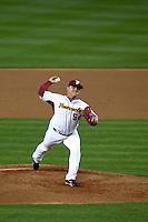 21 March 2009: #54 Enrique Gonzalez of Venezuela pitches against Korea during the 2009 World Baseball Classic semifinal game at Dodger Stadium in Los Angeles, California, USA. Korea wins 10-2 over Venezuela.