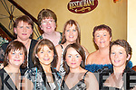 STYLE: Looking beautiful at the Womens Christmas celebrations in Lord Kenmares Restaurant, Killarney, last Saturday night were, front l-r: Siobhan OShea, Martina OMeara, Valerie OShea and Maureen Murphy. Back l-r: Linda OSullivan, Mary OHalloran, Julianne OConnor and Mairead OConnor (all Farranfore/Firies)..