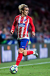 Antoine Griezmann of Atletico de Madrid in action during the La Liga 2017-18 match between Atletico de Madrid and Malaga CF at Wanda Metropolitano on 16 September 2017 in Madrid, Spain. Photo by Diego Gonzalez / Power Sport Images