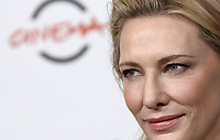 "L'attrice australiana Cate Blanchett posa durante un photocall per la presentazione del film ""The House With a Clock in Its Walls"" al Festival Internazionale del Film di Roma, 19 ottobre 2018.<br /> Australian actress Cate Blanchett poses during the photocall of the movie ""The House With a Clock in Its Walls"" during the international Rome Film Festival at Rome's Auditorium, on October 19, 2018.<br /> UPDATE IMAGES PRESS/Isabella Bonotto"