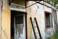 TSCHECHIEN, 07.2006 .Rozna bei Zdar nad Sazavou.Raeume zur Strahlungskontrolle einer zum Rozna-Komplex gehoerenden stillgelegten Uran-Mine. Rozna ist das letzte in Betrieb befindliche Uran-Bergwerk in Mitteleuropa, es wurde 1957 eroeffnet. Der Uranbergbau in der Tschechoslowakei startete 1946 auf direktes Geheiss der Sowjetunion, welche das Material fuer ihre Atombomben brauchte..© Vaclav Vasku/EST&OST.Radiation monitoring room at an abandoned uranium mine belonging to the Rozna complex near the city of Zdar nad Sazavou. Rozna is the site of the last deep uranium mine in operation in Central Europe. Uranium is mined here since 1957. Uranium mining in former Czechoslovakia started in 1946 with a direct order by the Soviet Union which needed the material for its atomic bombs.