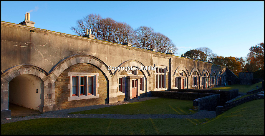 BNPS.co.uk (01202 558833)<br /> Pic: LandmarkTrust/BNPS<br /> <br /> Crownhill Fort, in, Devon. <br /> <br /> Fully booked...Holidays less ordinary spark a booking frenzy in Brits.<br /> <br /> A charity which rents out historic buildings around Britain is celebrating a boom in business that has seen some of its properties booked out years in advance.<br /> <br /> The Landmark Trust has transformed almost 200 of the country's quirkiest buildings - from medieval castles to Tudor towers and even a former pig sty - into unique holiday homes.<br /> <br /> And they have become so popular with Brits looking for unusual places to escape to that some buildings are fully booked until 2016.<br /> <br /> Top of the most popular properties are Luttrell's Tower, a Georgian folly near Southampton, Hants, and Astley Castle, a Saxon stronghold dating back to the 12th century in Nuneaton, Warks.<br /> <br /> Other favourites include a Victorian pigsty near Whitby, North Yorks, which was built in the style of a Greek temple, and the London townhouse of 20th century poet John Betjeman.<br /> <br /> The buildings have become such a hit among holidaymakers that they are willing to fork out thousands of pounds to stay in them.<br /> <br /> While prices start at 10 pounds a night for cosy cottages in winter, a seven-night stay at the most popular properties in the height of summer can cost up to 3,000 pounds.<br /> <br /> But the fees are then ploughed back into the upkeep and restoration of the properties.