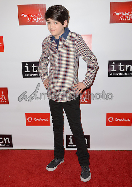 """10 December - Hollywood, Ca - Joshua Rush. Arrivals for the Los Angeles premiere of """"A Christmas Star"""" held at TCL Chinese Theater. Photo Credit: Birdie Thompson/AdMedia"""